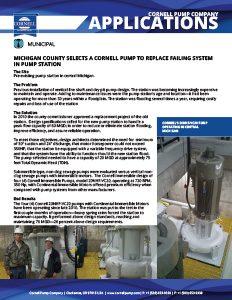 Cornell Pump Company Cornell Pump Product Literature